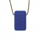 Geotag Pendant 'Decoded' (Blue) - Chewigem